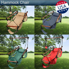 Hammock Chair Swing Hanging Seat Indoor Outdoor Garden Patio Yard S-shaped Hook