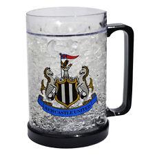 Newcastle United FC Congelatore tazza tankard Ice Cold Beer Bicchiere Nuovo Regalo di Natale
