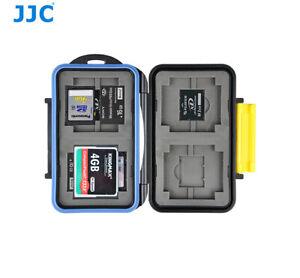 16 SlotsWater-Resistant Memory Card Case Holder fr CF SD XD Memory Stick Pro Duo