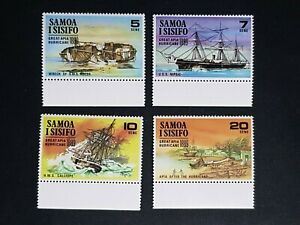 Samoa: SG; complete unmounted mint (MNH) set