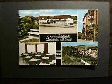 Krautheim (PLZ 74238) Cafe Schloßblick, gelaufen (1278)