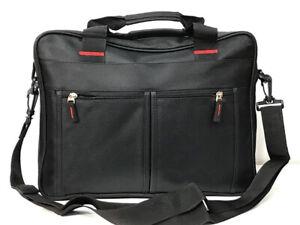 Laptop Messenger Shoulder Bag Briefcase Work Travel Office Strap Zipped Document
