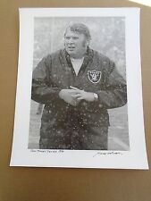 John Madden, denver 1974 photo NFL stills print by Baron Wolman signed 11093