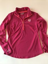 Under Armour Loose Fit All Season Gear Heritage Golf Club Womens Large Jacket