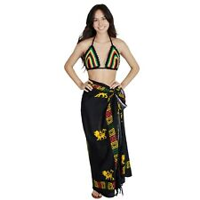 Aztec Rasta Reggae Lion Power Multiway Wrap-51068