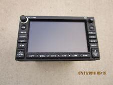 10-12 HONDA INSIGHT DASH NAVIGATION GPS UNIT CD DISC PLAYER RADIO AM FM DISPLAY