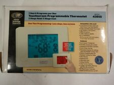 Climate Technology 43855  7 Day / 4 Program Programmable Thermostat - New In Box