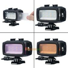 30m Waterproof Diving 8 LED Video Lamp Underwater Fill Light for GoPro Camera