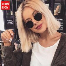 LeonLion 2019 Classic Small Frame Round Sunglasses Women/Men Brand Designer