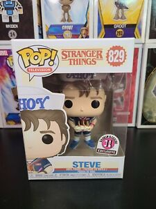 Funko Pop! TV Stranger Things #829 (Steve) Baskin-Robbins Exclusive BOX mint