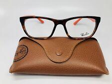 New Authentic Ray Ban RB 5347-I 5500 Havana & Orange  Eyeglasses 52mm with Case