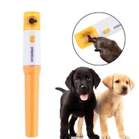 Hot Electric Dog Cat Pet Claw Toe Nail Trimmer Grinder Paws Grooming Trimmer