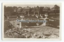 tq0876 - Lancs - The Happy Mount well kept Gardens, at Morecambe - Postcard