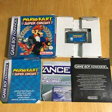 Nintendo Gameboy Advance Boxed Game - Mario Kart Super Circuit Complete