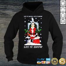 Let It Snow Narcos Pablo Escobar Christmas Jumper Hoodie