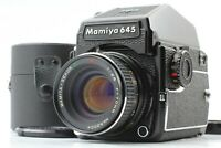 【NEAR MINT】 Mamiya M645 1000S w/ Sekor C E 70mm f/2.8 PD Prism Finder From JAPAN