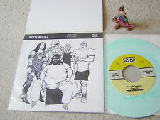"POISON IDEA Taken By Surprise GREEN MARBLED VINYL 7"" w/PS SUB POP SINGLES CLUB"