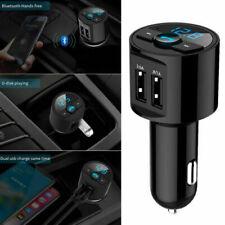 Bluetooth Kit Voiture Transmetteur Fm Double Chargeur USB Audio MP3 Player Mic