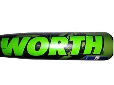 Worth Prodigy Legit GX4 Baseball Bat - SLPL10 USSSA 28/18 New Big Barrel DROP 10