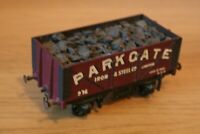 O GAUGE - Kit built 7 plank Private Owners Coal Wagon - 'Parkgate Iron & Steel'