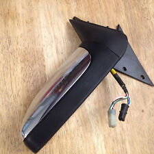 1993 Jaguar XJ6 LH Driver's Door Side View Power Mirror Chrome OEM Fast Shipping