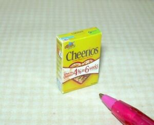 Miniature O's of Oats Cereal Box: DOLLHOUSE Breakfast Miniatures 1:12 Scale