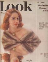 1952 LOOK October 7 - Toulouse Lautrec; Martha Raye; Blind Cooks; Julie Harris