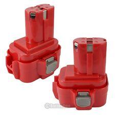2 x 9.6V NI-CD Battery for Makita PA09 9120 9122 192595-8 192596-6 193977-7