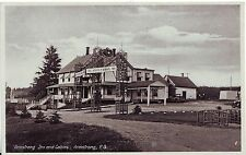 Canada Quebec Armstrong - Armstrong Inn and Cabins circa 1930 unused postcard