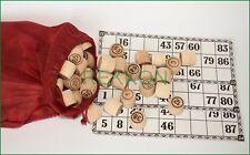 Ukrainian Russian Popular Old Game Bingo Cossack LOTO Wood Barrels ЛОТО
