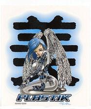SEXY Manga PLASTIK ANIME ROBOT ANGEL Metal Spy Pin-up Girl STICKER/DECAL COSPLAY