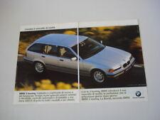 advertising Pubblicità 1997 BMW 3 TOURING
