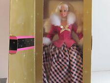 Winter Rhapsody Barbie Gorgeous Pink & Black Dress with White Furry Collar, Mint