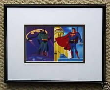 BATMAN THE ANIMATED SERIES SUPERMAN  FRAMED PROMO CARD
