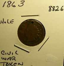 US Civil War & Other Tokens (5)