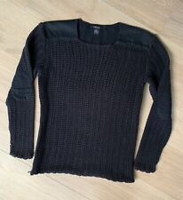 Ksubi Black Knit Jumper