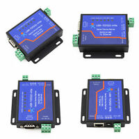 3Pcs  USR-TCP232-410S Terminal Power Supply RS232 RS485 to TCP/IP Converter