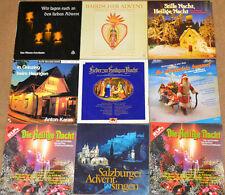 LP Package 9 Stück Anton Karas - Christmas Records (X553)