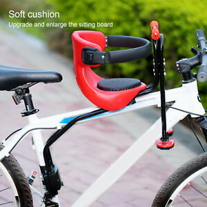 Safety Child Baby Kids Bike Bicycle Cycle Front Seat Chair Carrier With Handrail