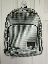 NEW Authentic $198 Marc By Marc Jacobs Zig Zag Backpack, Black-White