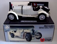 1:22 MERCEDES BENZ SSKL  WHITE   (DESK TIDY)