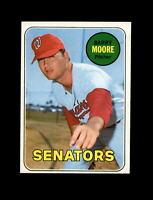 1969 Topps Baseball #639 Barry Moore (Senators) NM
