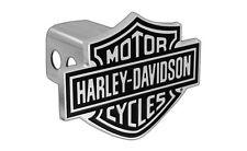 Harley-Davidson Trailer Hitch Cover Plug With 3D Bar & Shield