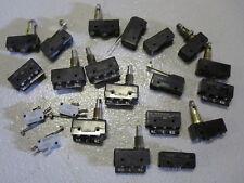 Varios micro switch/Honeywell conmutadores 21 de descuento, en su mayoría nuevo viejo Stock, Inc Iva