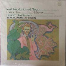 RAVEL-INTRODUCTION & ALLEGRO-POULENC-TRIO-ORIGINAL ANGEL RECORDS S-36586 LP