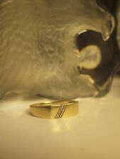 Diamond Unbranded Yellow Gold Natural Fine Rings