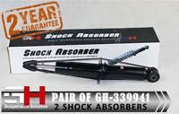 2 REAR SHOCK ABSORBERS FOR AUDI Q7 PORSCHE CAYENNE VW TOUAREG/GH-339941K