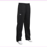 Under Armour Mens Fleece Rival Pants Hustle Team Sweat Bottoms Cotton