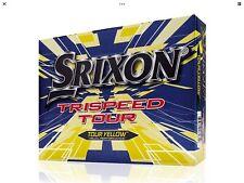 NEW Srixon Trispeed Tour Dozen Yellow Golf Balls