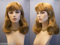 Long Medium Blonde Brunette Red Straight Skin Top Wigs